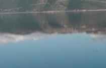 Η Τριχωνίδα, όπως φαίνεται απ΄ την Καψοράχη